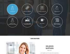nº 15 pour Homepage Design for a Medical Hub par pradeep9266