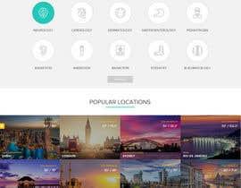 nº 9 pour Homepage Design for a Medical Hub par sudpixel