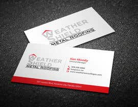 nº 7 pour Design some Business Cards for roofing company - DCM05172017 par BikashBapon