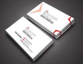 nº 209 pour Design some Business Cards for roofing company - DCM05172017 par RohanPro