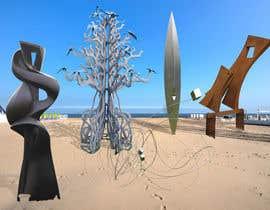 nº 11 pour Put images on beach background par abdussalamsbd251