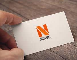nº 81 pour Logo for NDESIGN par daudhusainsami