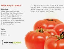 nº 1 pour Vegetable Growing  How to Guide card & calender par vivekdaneapen