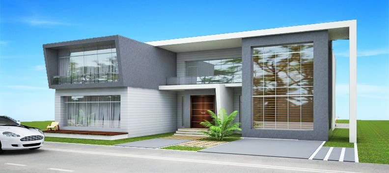 Proposition n°18 du concours Design and modification of the scheme Villa ( New Idea )