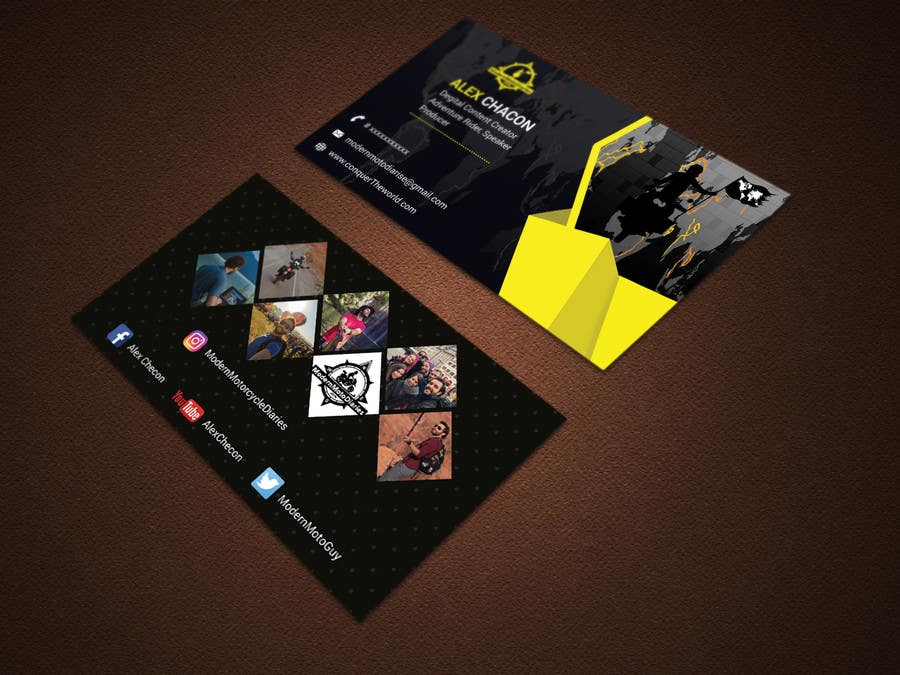 Proposition n°198 du concours Design my Business Card