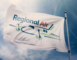 nº 11 pour Regional Air Logo with plane par KhaledAldij