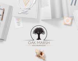 nº 90 pour Oak Marsh Neighborhood Logo par wephicsdesign