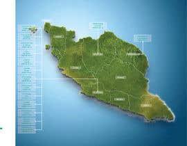 nº 36 pour Infographic Map par farinajasman