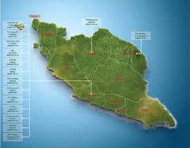nº 39 pour Infographic Map par farinajasman