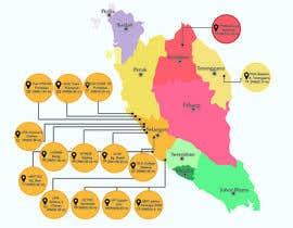 nº 33 pour Infographic Map par nurlyana96
