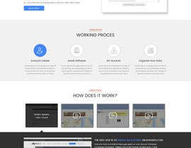 nº 12 pour Redesign a Web page improving the visual look and feel and user experience par sudpixel