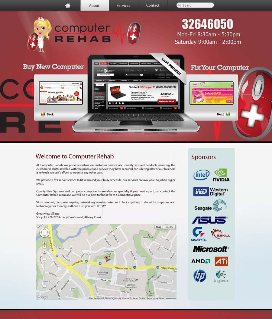 #6 for Website Design for G-Lancer by EhabSherif