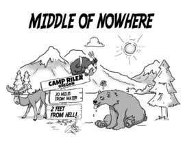 nº 5 pour Middle Of Nowhere-Camp Rilea par ZukuDesigns