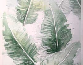 nº 16 pour Tropical banana leaf mobile phone case design par ayadevin