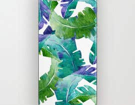 nº 18 pour Tropical banana leaf mobile phone case design par goalexxago