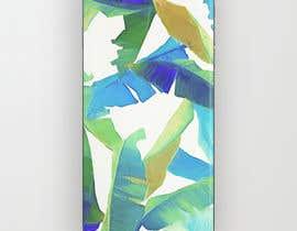 nº 25 pour Tropical banana leaf mobile phone case design par goalexxago