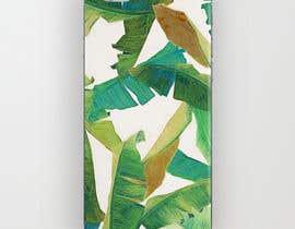 nº 28 pour Tropical banana leaf mobile phone case design par goalexxago