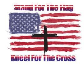 nº 13 pour Stand/Kneel t-shirt design par rogerdemetrio