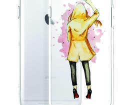 nº 6 pour Freehand/Sketch style drawing of a female for a phone case par wandarose