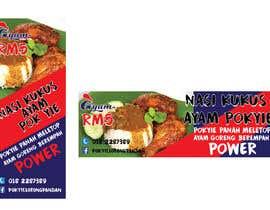 nº 51 pour Banner + Bunting for - Nasi Kukus Ayam Pokyie par afiqahnahar