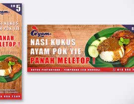 nº 41 pour Banner + Bunting for - Nasi Kukus Ayam Pokyie par idris95