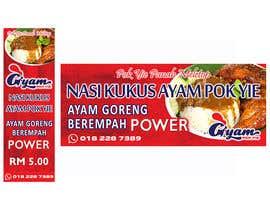 nº 9 pour Banner + Bunting for - Nasi Kukus Ayam Pokyie par Aosora17