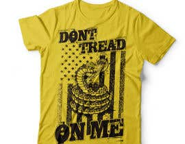 nº 42 pour Design a Snake T-Shirt (Gadsden flag - Tread On Me) par DAISYMURGA
