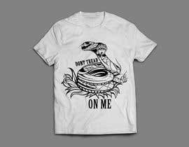 nº 14 pour Design a Snake T-Shirt (Gadsden flag - Tread On Me) par kaliuser54