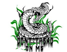 nº 47 pour Design a Snake T-Shirt (Gadsden flag - Tread On Me) par kaliuser54
