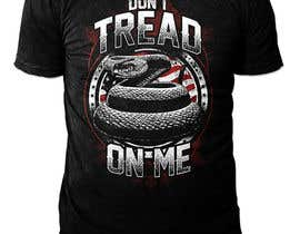 nº 45 pour Design a Snake T-Shirt (Gadsden flag - Tread On Me) par novuz