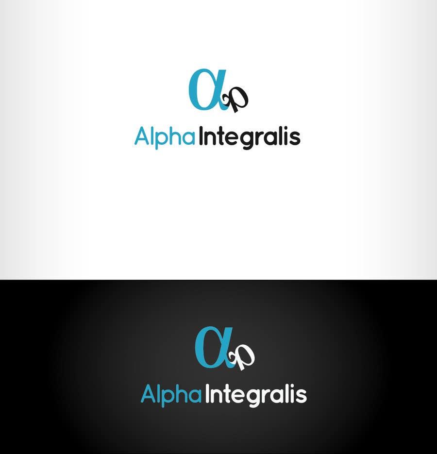 Penyertaan Peraduan #65 untuk Logo Design for Alpha Integralis