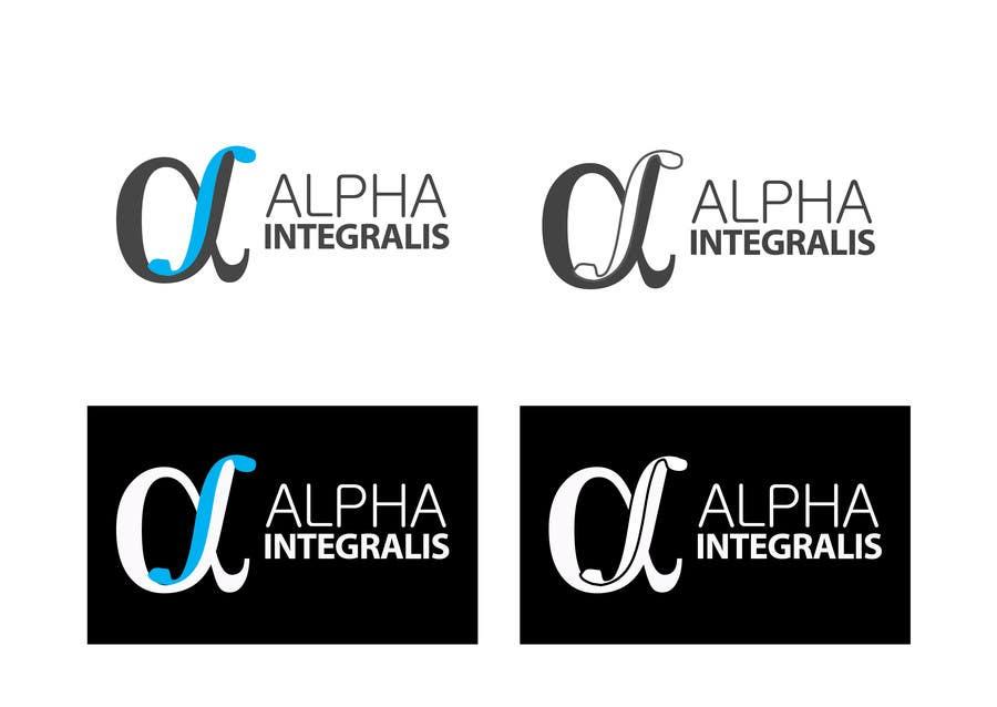 Penyertaan Peraduan #75 untuk Logo Design for Alpha Integralis
