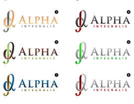 #132 for Logo Design for Alpha Integralis af CTRaul