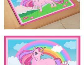nº 8 pour Designs a unicorn for a doormat / Design für eine Einhorn Fußmatte par imagencreativajp