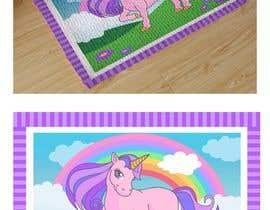 nº 9 pour Designs a unicorn for a doormat / Design für eine Einhorn Fußmatte par imagencreativajp