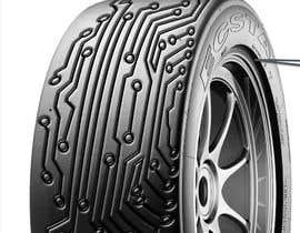 nº 25 pour Digital Tyre Image par mdhkatebi