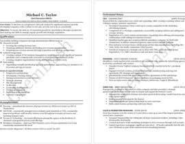 nº 12 pour Winning Resume Challenge par ChemDash