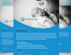 nº 6 pour Healthbridge Global 1-sided flyer par joymarma11