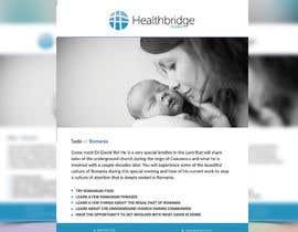 nº 8 pour Healthbridge Global 1-sided flyer par joymarma11