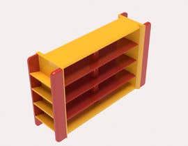 #12 for design kinder garden shelf to store toys by Radhik27