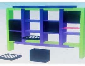 #4 for design kinder garden shelf to store toys by sonnybautista143