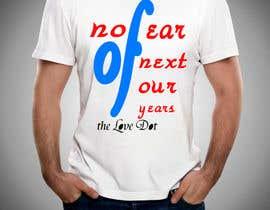 nº 3 pour Design a T-Shirt_nofearofnextfouryears par riduanpekua