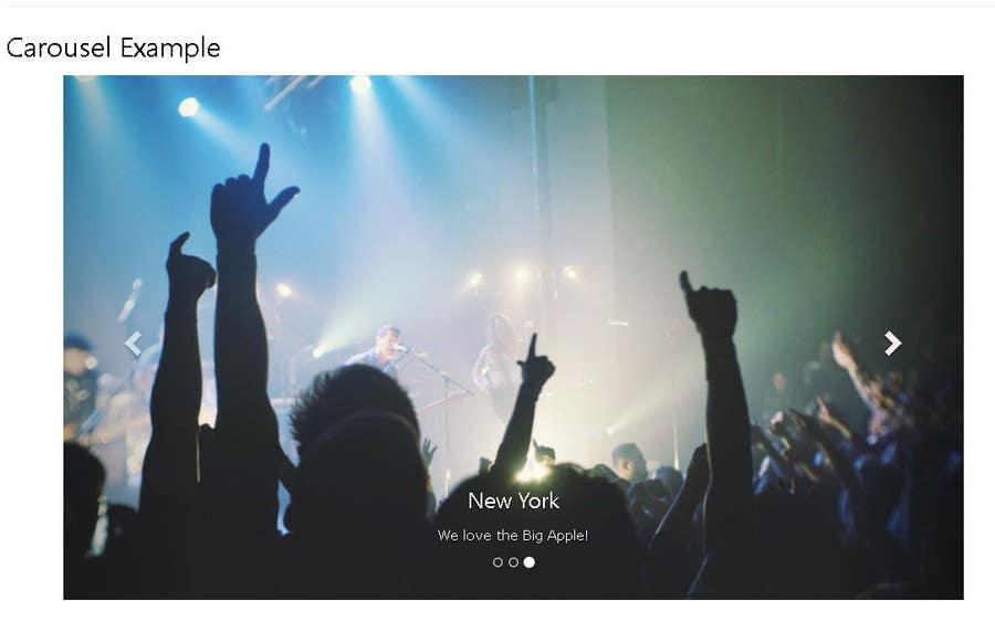 Proposition n°1 du concours Design a website Slider images.