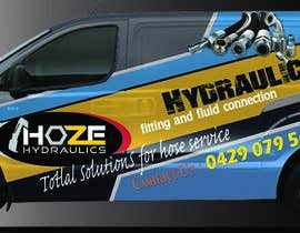 nº 12 pour Design a Hydraulics Hose Van graphics par sarawijesinghe