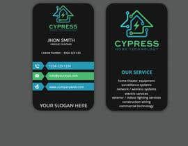 nº 234 pour Business Card Design - Technology Integration - Electrician par Sagor7777