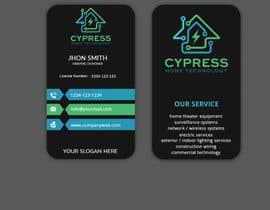 nº 236 pour Business Card Design - Technology Integration - Electrician par Sagor7777