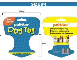 nº 2 pour Design a Brochure or flyer for dog toys to hang par franciscomntll