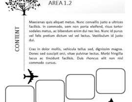 nº 8 pour Design 3 pages and visualize the flow on each page, tell a story par danibell
