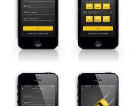 nº 25 pour Design an App Mockup par blackdahlia24