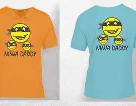 nº 20 pour Ninja Daddy Graphic Design par yunitasarike1